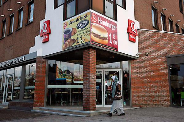 Quick Fast Food France Halal