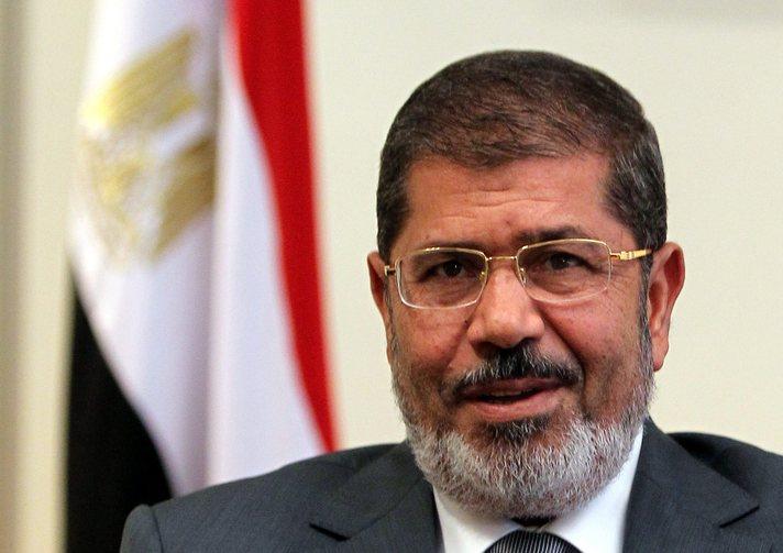 Egyptian President Muhammad Mursi Traveled To The Sinai Peninsula To Meet With Coptic Families