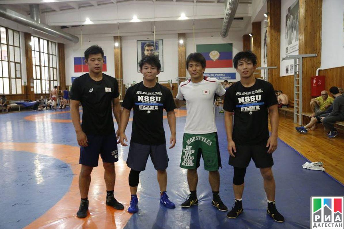 Japanese wrestrers arrived in Dagestan | islam ru