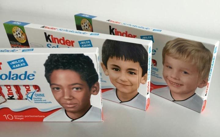 Фото детей на киндер шоколаде сейчас