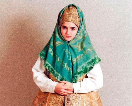 почему на руси женщины носили платок