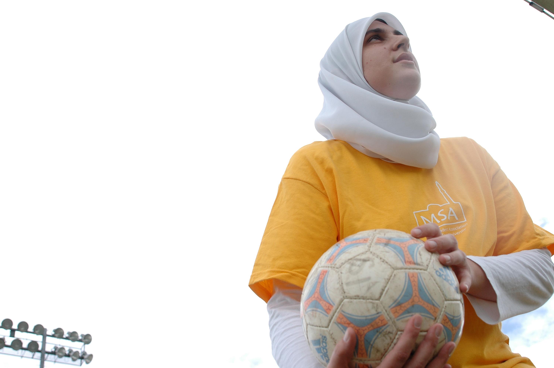 Платок мусульманки (хиджаб)
