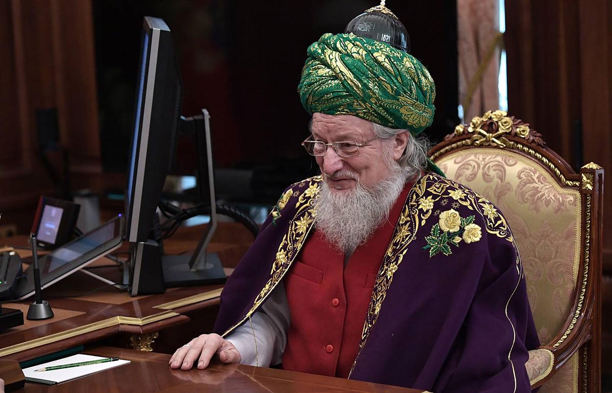 Верховный муфтий Талгат Сафа Таджуддин