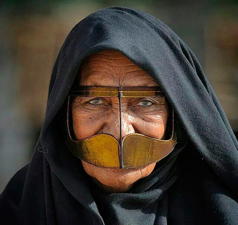 Бурка арабских женщин