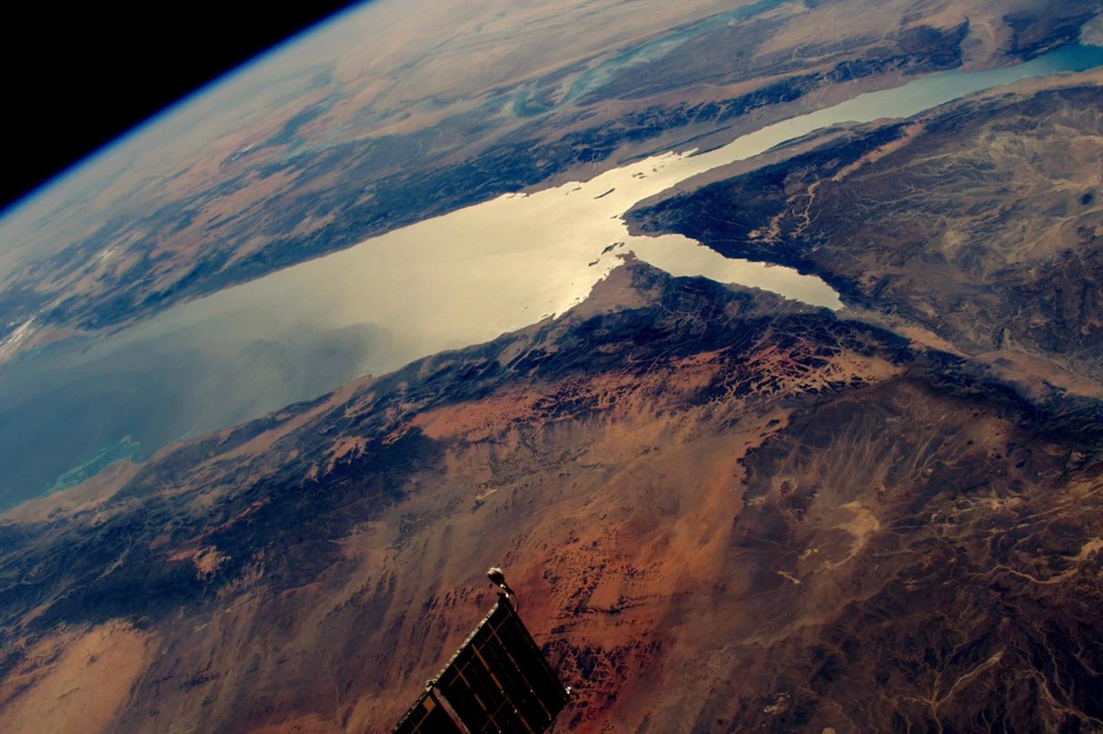 Аравийский полуостров из космоса