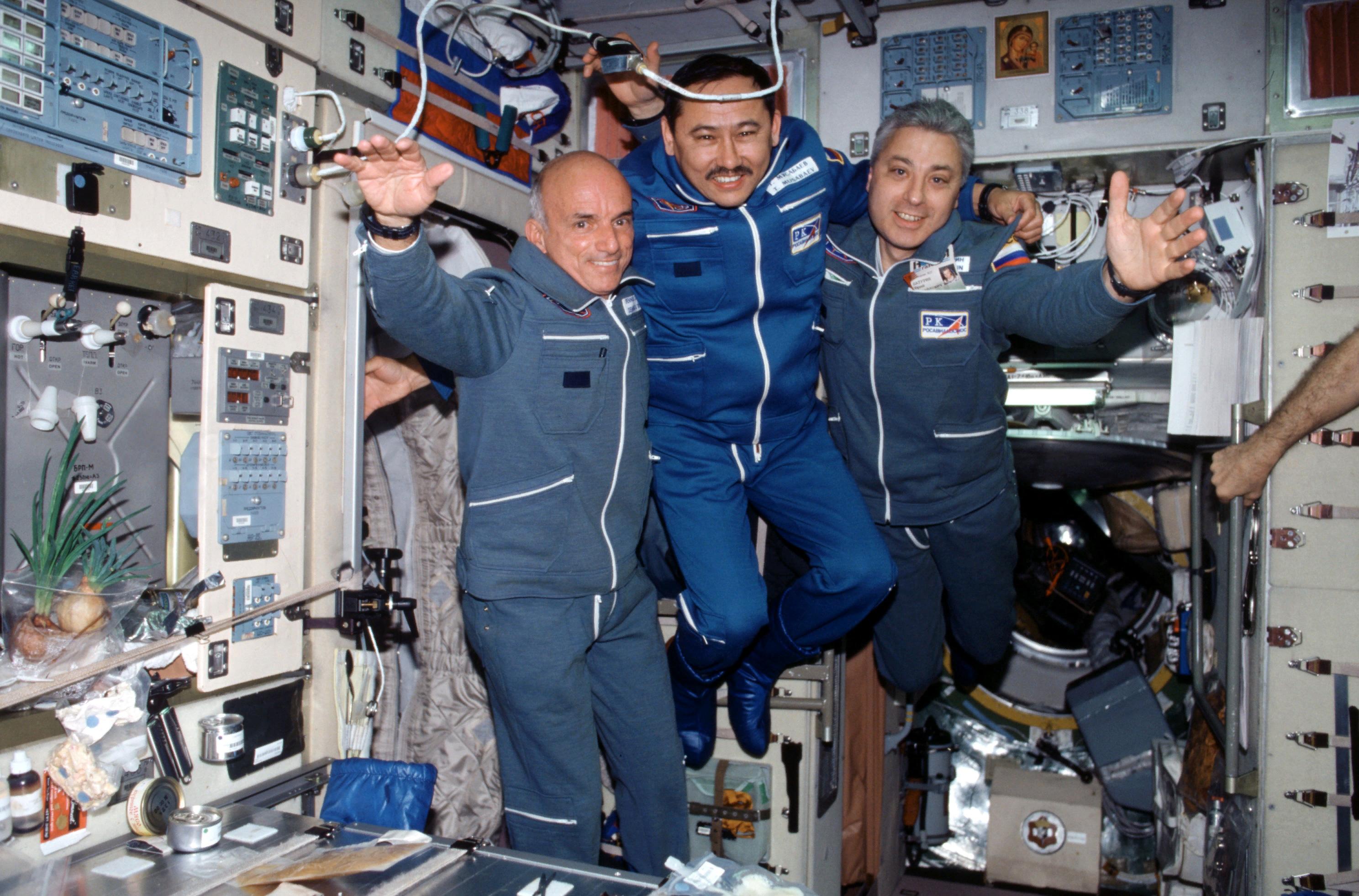 Космонавт-мусульманин Талгат Мусабаев