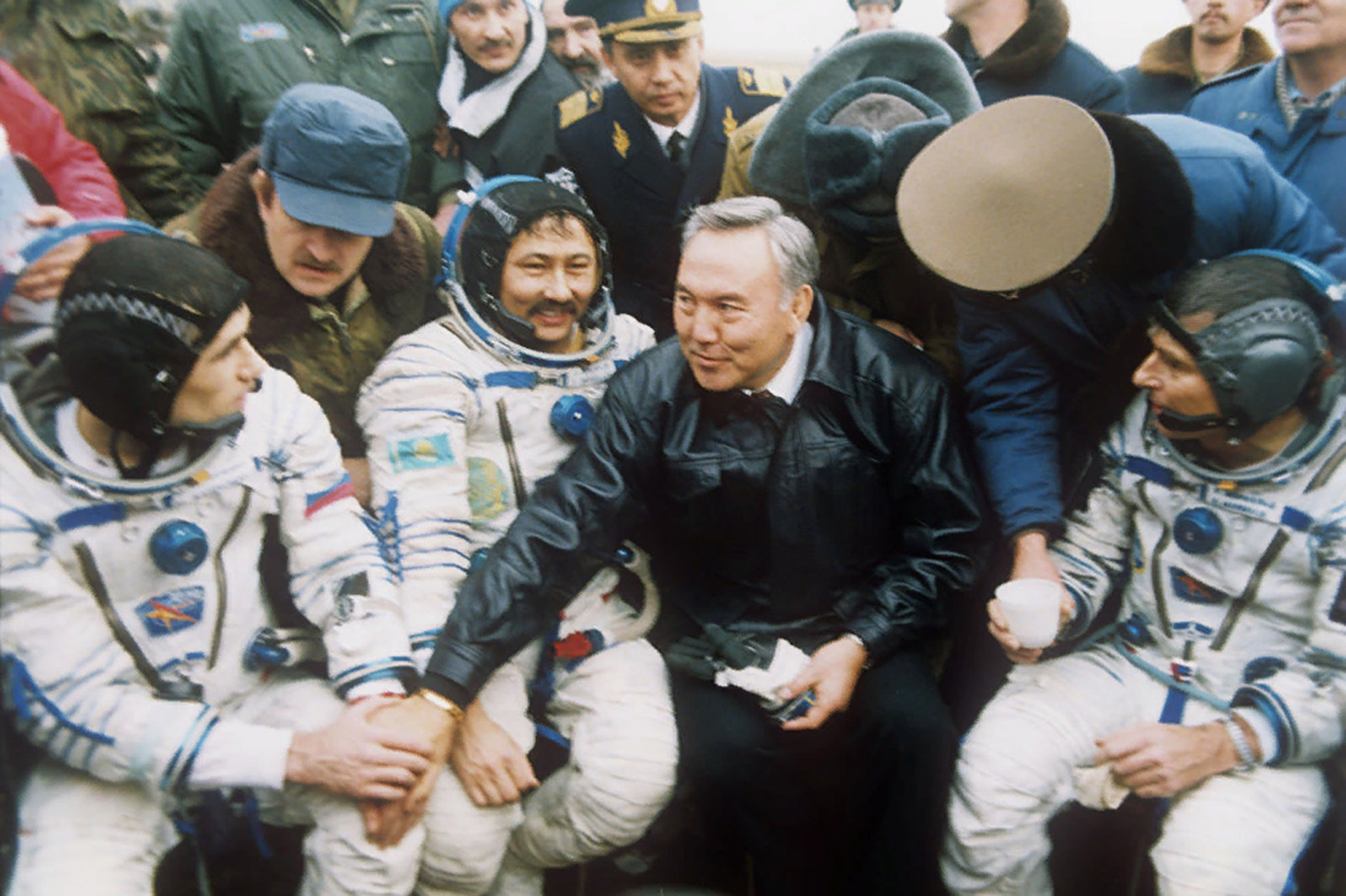 Встреча космонавта-мусульманина Талгата Мусабаева
