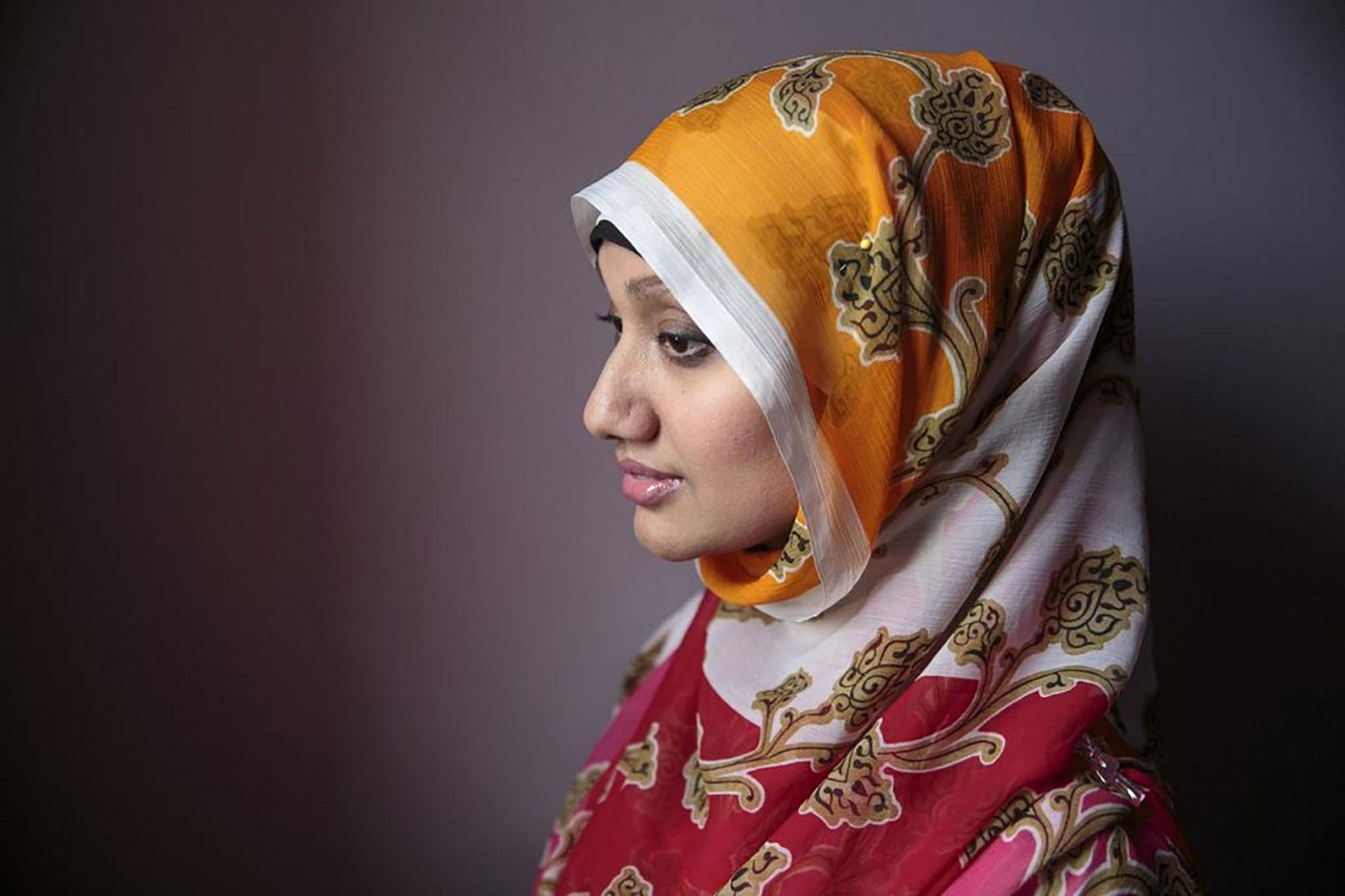Назма Кхан. Всемирный день хиджаба