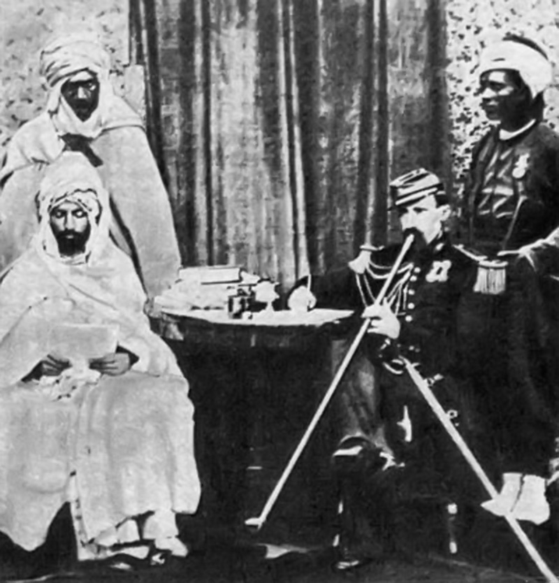 Абд аль-Кадир ибн Мухйиддин аль-Джазаири во Франции