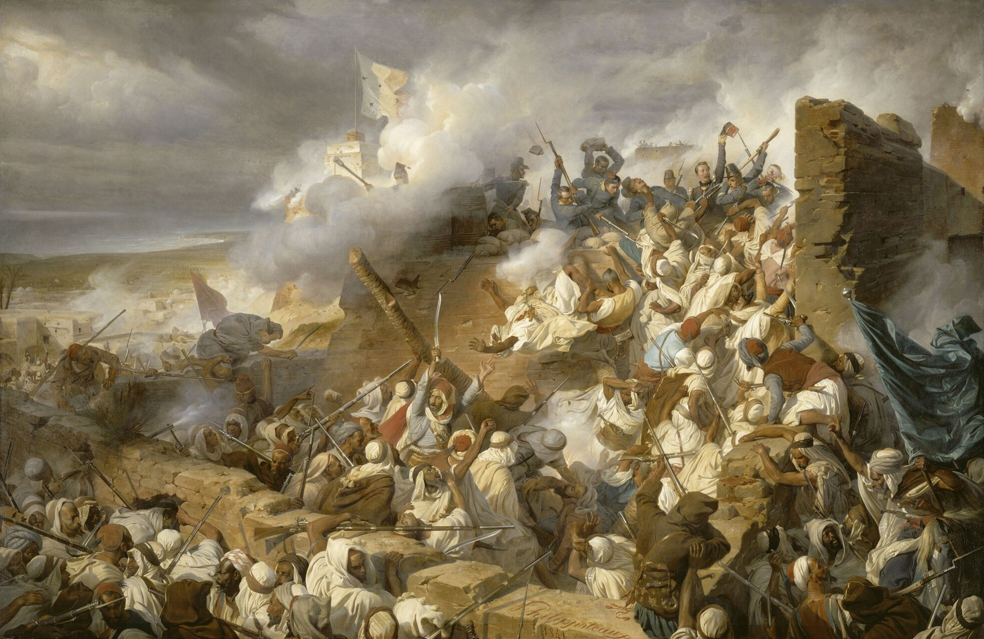 Борьба алжирских мусульман с французскими захватчиками