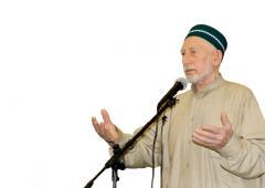 Выступление шейха Саида-афанди на мавлиде в г. Буйнакск 06.03.2010 г.