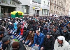 Курбан-байрам в Москве прошёл без крови