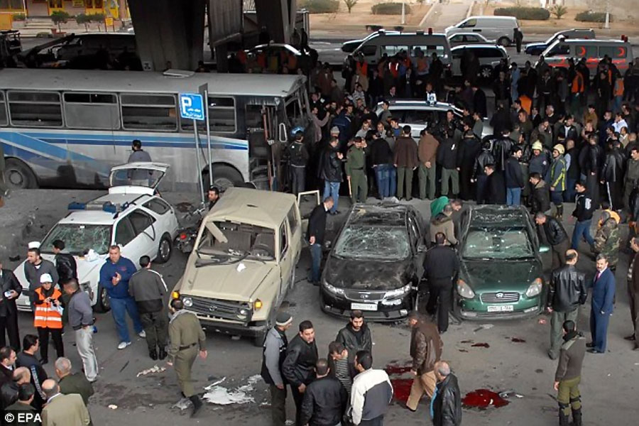 Теракт в Дамаске (terrorist attack in Damascus)