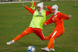 Женская футбольная сборная Ирана